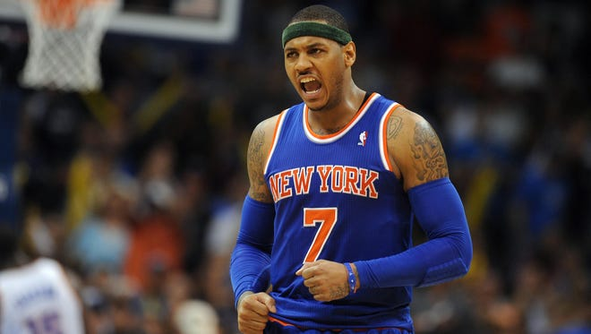 The Knicks' Carmelo Anthony is set to test the waters of free agency after he opted out according to sources close to the situation.