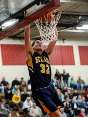 Elco's Colton Lawrence was honored by the Pennsylvania