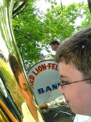 The Red Lion-Felton Band will play at the Koller Block Party on May 21.