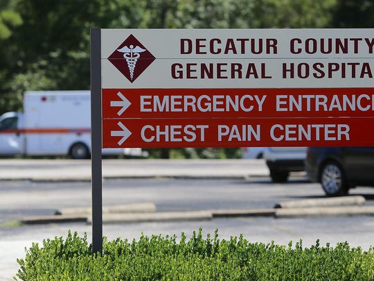 The Decatur County General Hospital in Parsons.