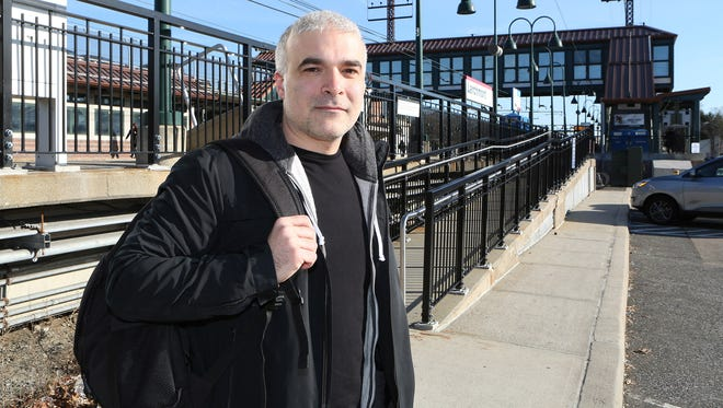 Columnist Dan Bova, from Larchmont, N.Y., says his morning ritual involves falling asleep on his train to Grand Central Station in New York.