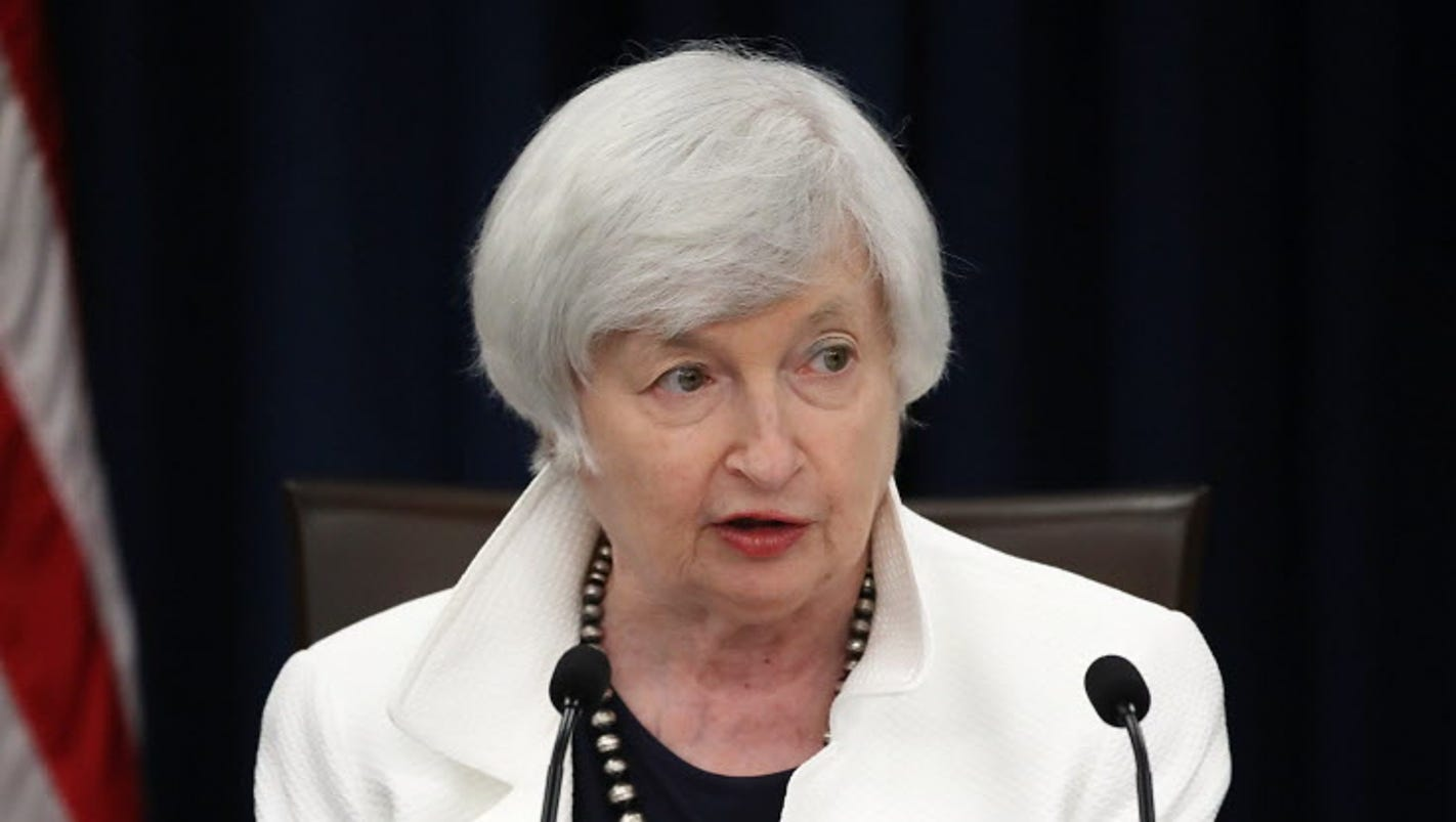 Keep Fed Chair Janet Yellen
