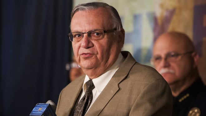 A status conference in Maricopa County Sheriff Joe Arpaio's civil-contempt case is set for Friday, May 8, 2015.