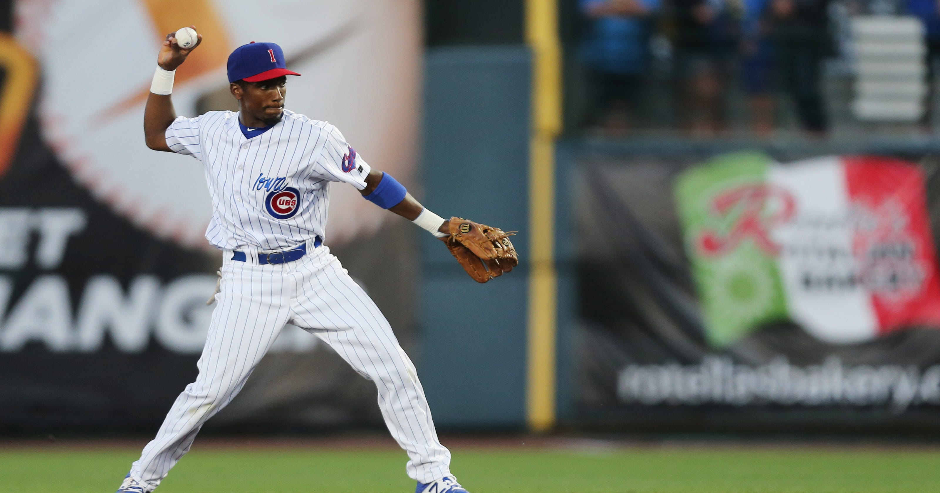 Jemile Weeks still plugging away with the Iowa Cubs