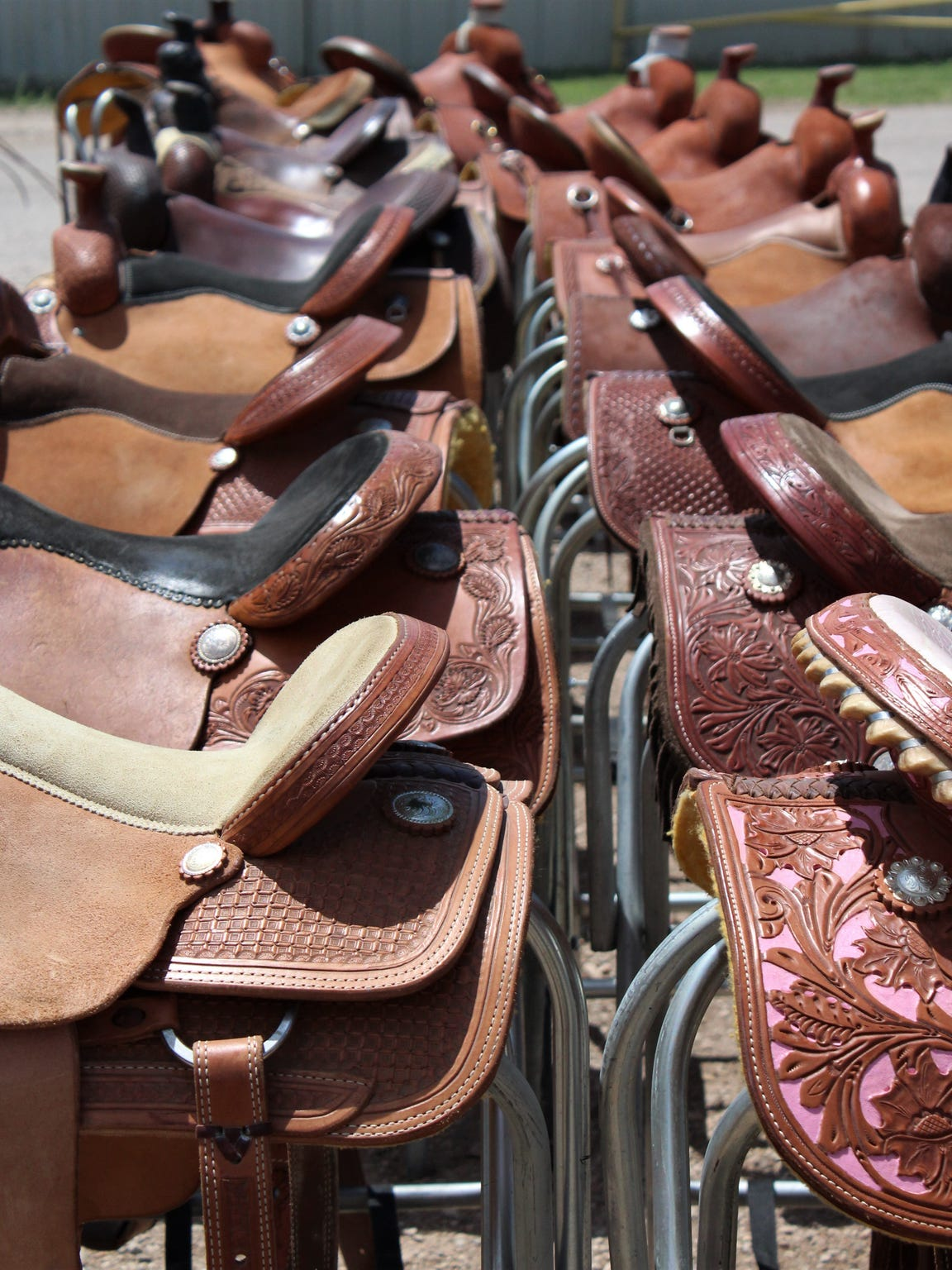 Next time your saddle up, it could be on a new one purchased at the Western Heritage Classic.