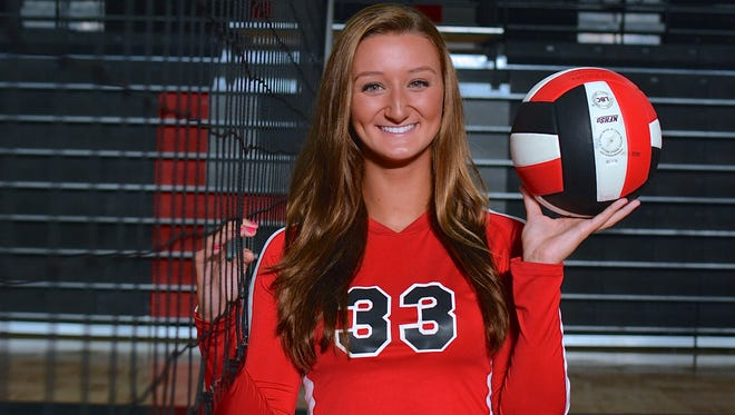 Pisgah senior Brooklyn Allen is the Western North Carolina Athletic Conference Volleyball Player of the Year.