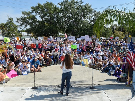 Hundreds of students, parents, and Martin County residents