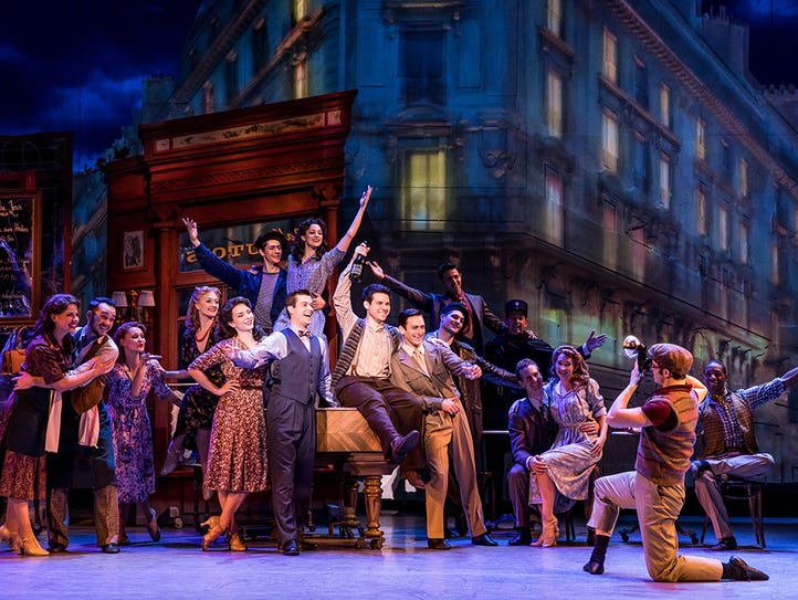 """""""An American in Paris"""" touring production"""