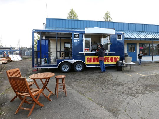 Big Blue Thai BBQ originally opened on Silverton Road before it moved to South Commercial. The truck will remain open on South Commercial near Aunt Bee's.