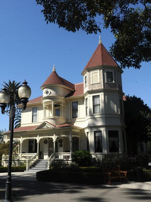 The Camarillo Ranch House was built in 1892 in the Queen Anne style.