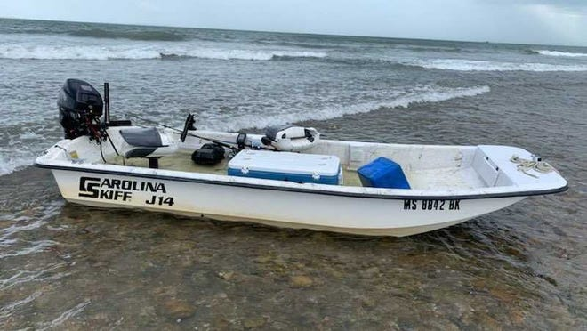 Empty skiff found SOURCE: Coast Guard