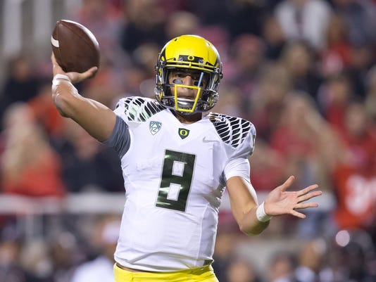 NCAA Football: Oregon at Utah