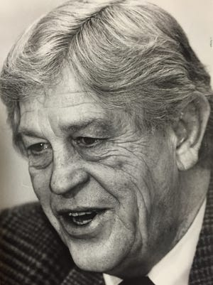 Jim Riehle was Lafayette mayor for 24 years, after first being elected in 1971.