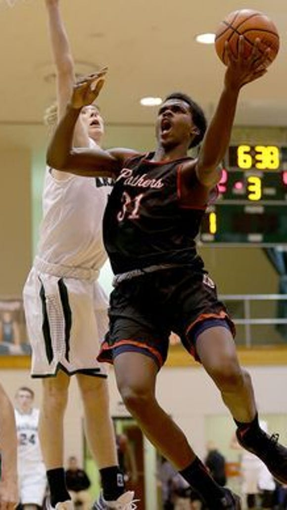 North Central's Kris Wilkes named to the All-Metropolitan Interscholastic Conference team.