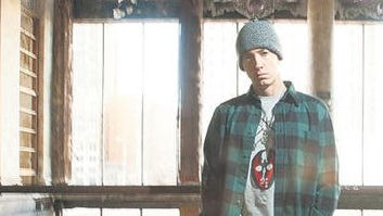 Eminem's relationship with fame remains extremely tenuous.