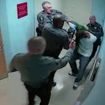 Man roughed up in hospital video knew it was coming