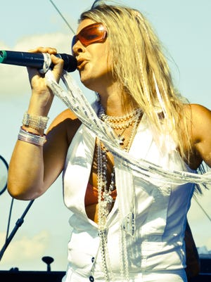 After singing backup for Meat Loaf for a decade, Hunterdon County-raised singer CC Coletti formed her own band and released two original CDs.