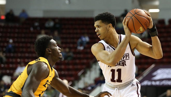 Mississippi State sophomore Quinndary Weatherspoon finished 3 of 14 from the field in his team's 67-65 loss on Wednesday.