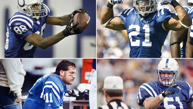 Marvin Harrison, Bob Sanders, Jeff George and Trev Alberts all came to the Colts via draft trades.