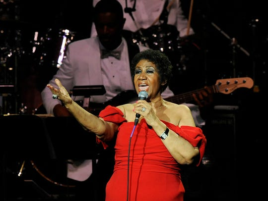 Aretha Franklin: Lifelong commitment to Detroit award.