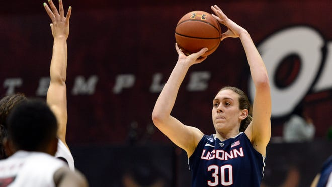Breanna Stewart and the Connecticut Huskies are the No. 1 team in the USA TODAY Coaches Poll.