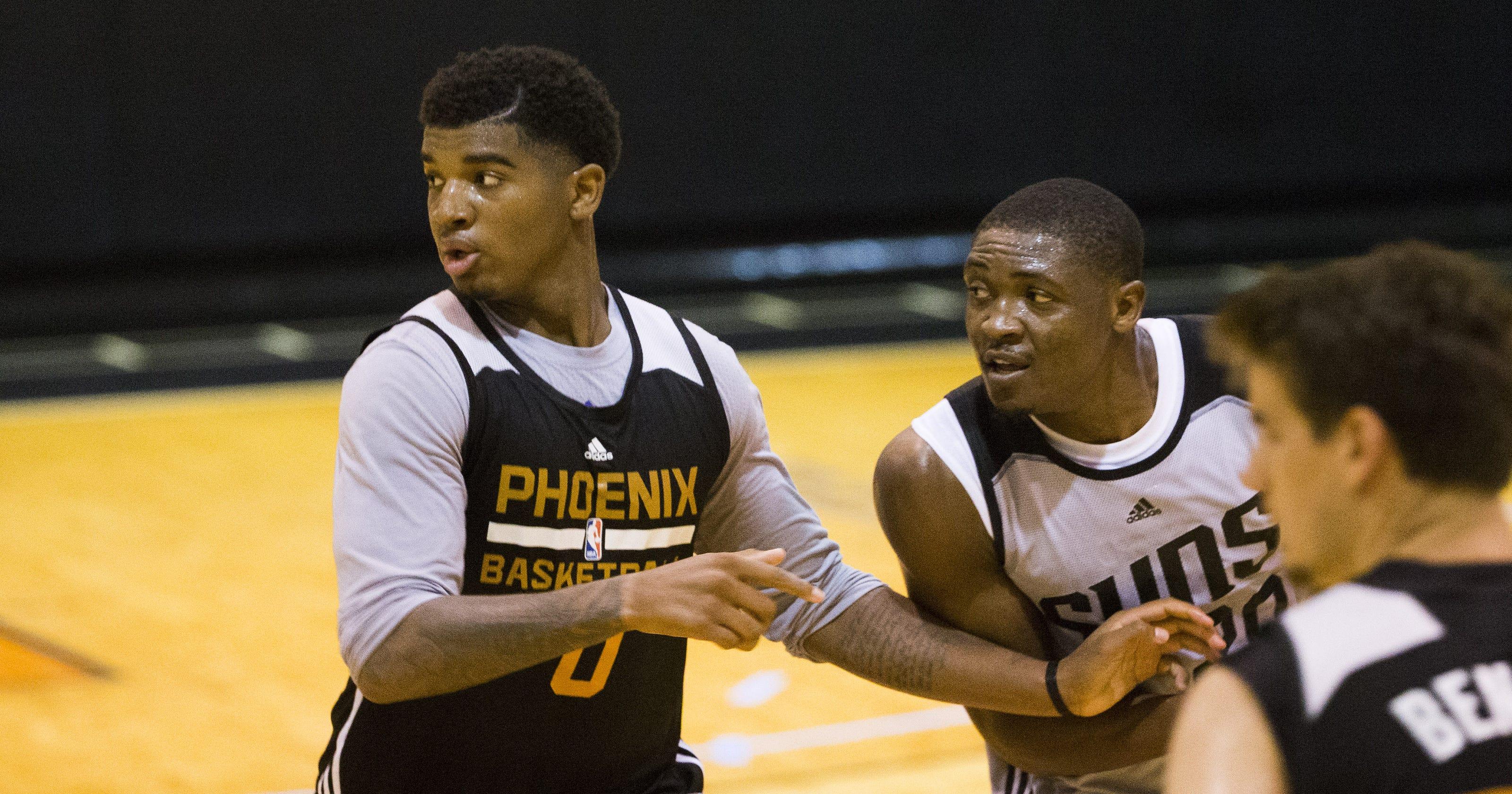 60618e6fafb Phoenix Suns  highlight-reel forward Marquese Chriss plans improvement in  Las Vegas