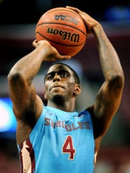 Florida State guard Dwayne Bacon teamed up with Malik