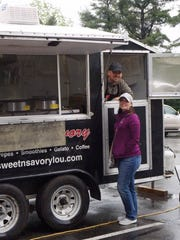The Sweet N Savory food truck's new owners are Brandon