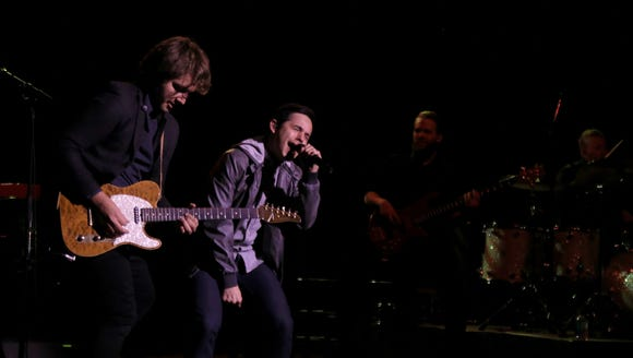 David Archuleta performs Thursday night with his band