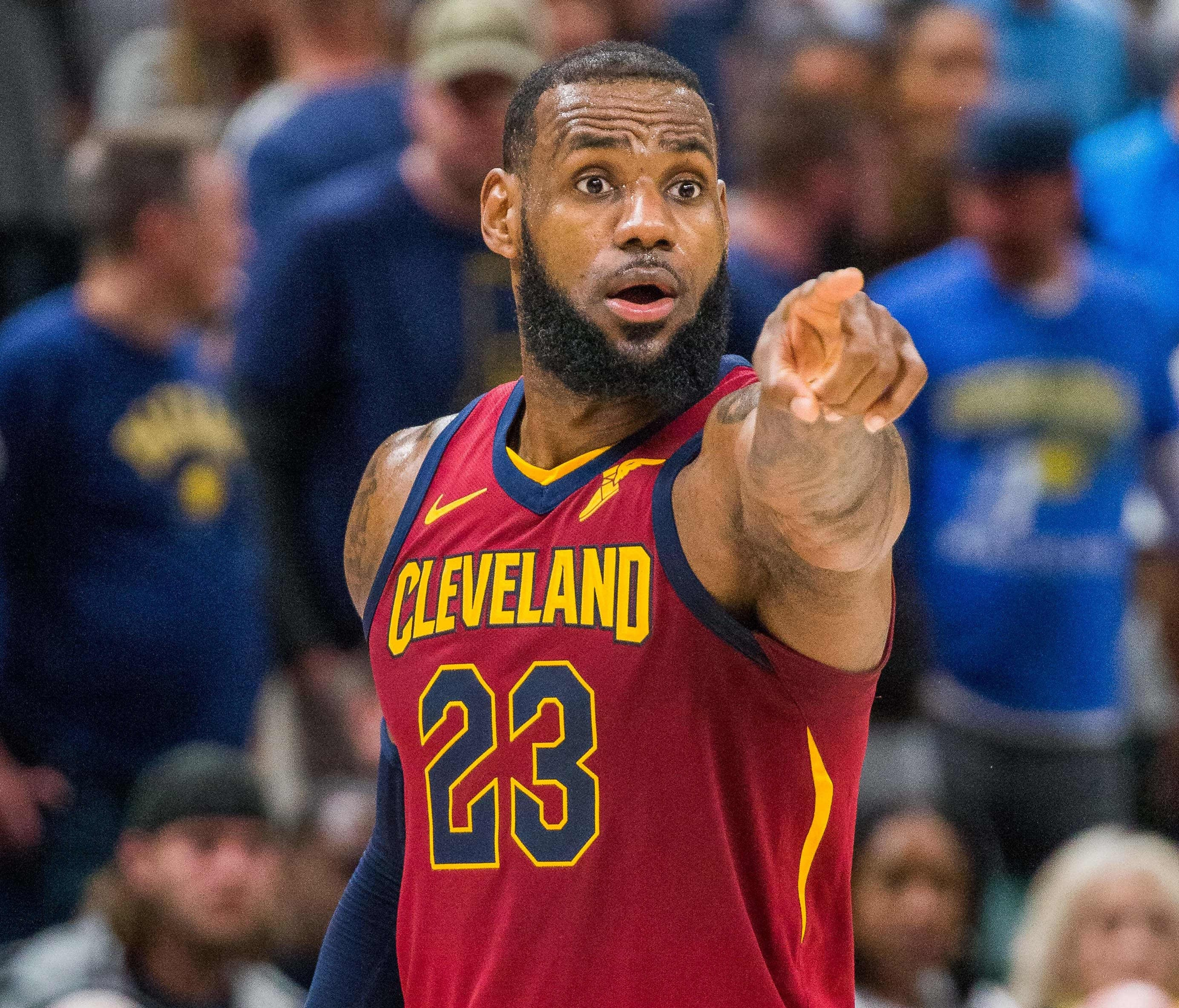 LeBron James is leaving Cleveland for a second time.