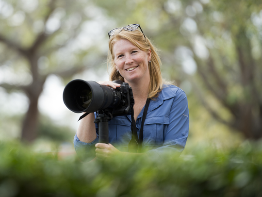 Photojournalist Molly Bartels.