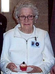 Trudy (Hoke) Millward, pictured on her 94th birthday