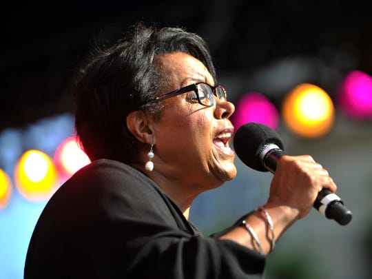 Vocalist Ursula Walker and the Buddy Budson Quintet will perform at Sunday's festival.