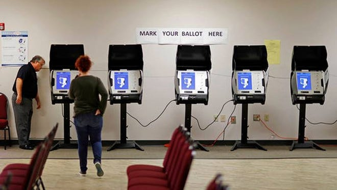 """Voting equipment vendor ES&S invited state and county election officials to join an """"advisory board"""" and treated them to trips to Las Vegas and elsewhere, an arrangement that drew criticism from ethics watchdogs. The revelation comes as intelligence experts warn that Russia and perhaps other nations or actors are certain to try to interfere with the 2018 midterm vote."""