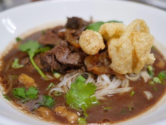 Boat noodle soup at Ammata Thai Kitchen