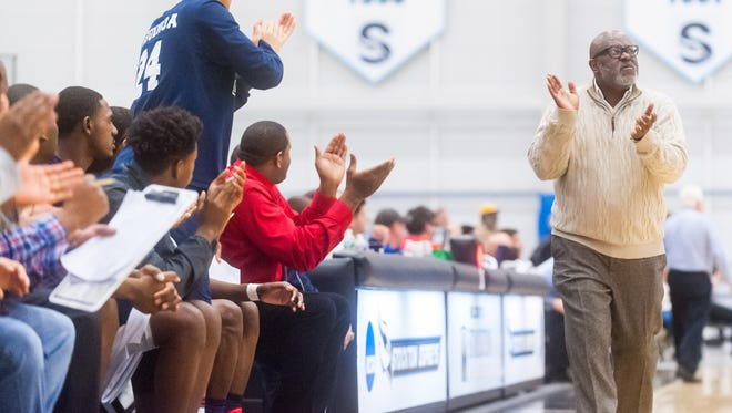 Gene Allen was reinstated as Atlantic City High School's boys basketball coach on Monday after a judge ruled the Board of Education violated his due process when it decided not to bring back the three-time state championship coach last month.