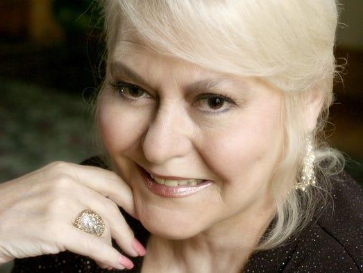 August 2007: Singer Mary Ellen Tanner.