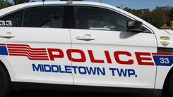 Middletown police cruiser