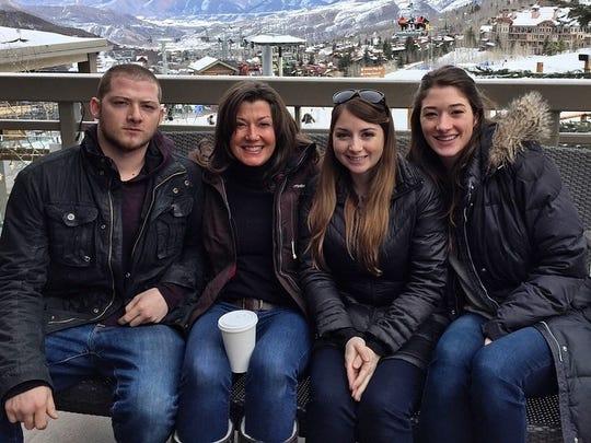 Left to Right: Matt Chapman, Amy Grant, Millie Chapman,
