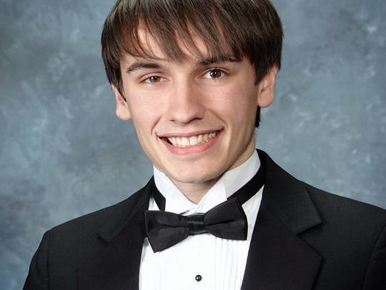 Valedictorian Brandon L'Abbe