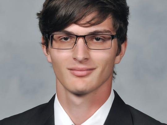 Valedictorian Travis Walker