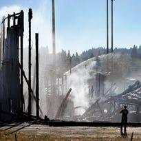 Photos: Fire destroys Eugene's Civic Stadium