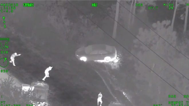 A car chase from Palm Beach to Martin County ended with the arrest of a 17-year-old Boynton Beach boy.