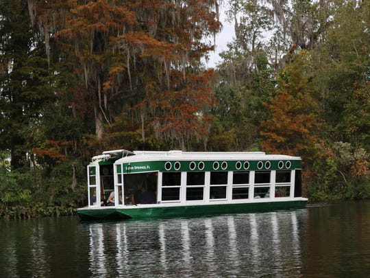 Take a Jungle Cruise on the Silver Springs River. One
