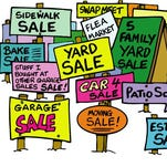 Check out our interactive Garage Sale Map.
