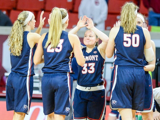 The Belmont women received 16 votes this week in the