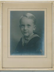 Portrait of a young Stewart McHenry