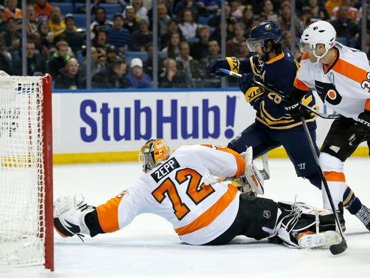 NHL: Philadelphia Flyers at Buffalo Sabres