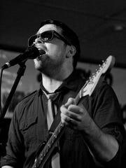 Blues guitarist Gabe Cox