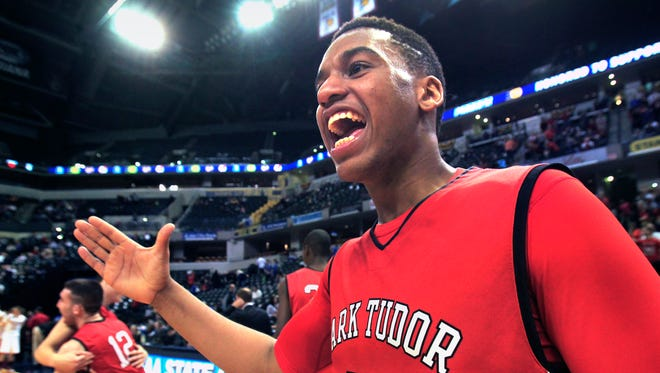 Park Tudor's Trevon Bluiett is one of the top rated players in Indiana in the 2014 class.